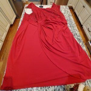 red dress size 24W